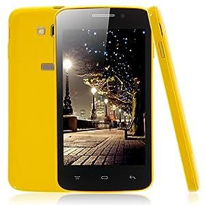 Mzamzi - Gran valor mixc g7108 4.3 android 4.4 mtk6572 dual-core celular 512mb 4gb ( estándar de la ue ) yellow \