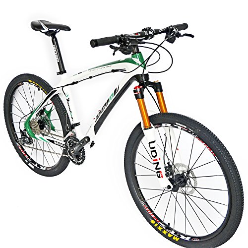 BEIOU Carbon Fiber Mountain Bike Hardtail MTB SHIMANO M610 DEORE 30 ...