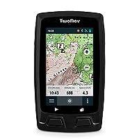 TwoNav Horizon (negro) - GPS Full Connect para Senderismo (incluye un mapa topográfico)