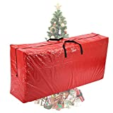 Vencer Red Extra Large Christmas Tree Bag for 9 Foot Tree Holiday