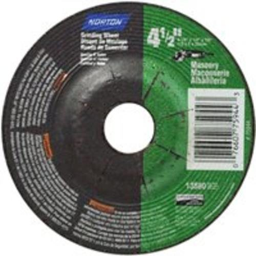 - Norton Masonry Grinding Wheel - 4.5in. Dia.