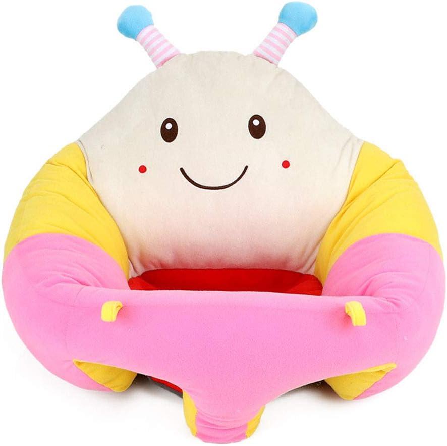 MIJI Cuscino del bambino-360 /° Supporto Divano Imbottito Stile Cartone Animato Peluche Sedile Divano Regalo Adatto per 0-3 Anni
