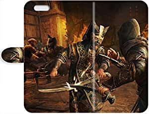 Robert Taylor Swift's Shop 2015 5318900PJ569373173I6 Assassin's Creed: Revelations Custom Hard Leather Case for iPhone 6/iPhone 6s Durable Leather Case Cover