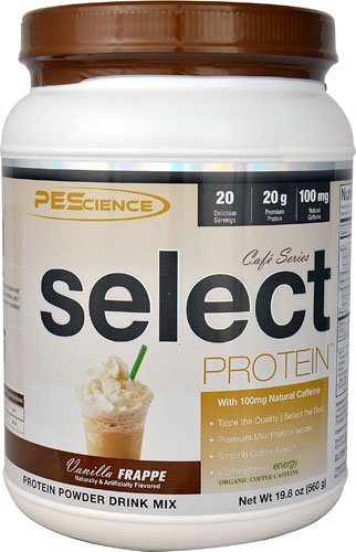 PEScience Select ProteinT Cafe Series Vanilla Frappe -- 20 Servings - 3PC by PEScience