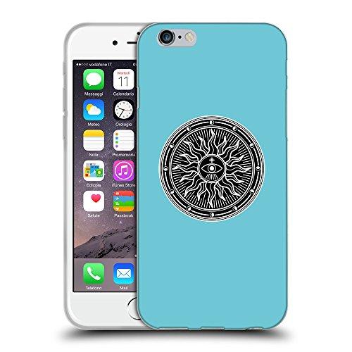 GoGoMobile Coque de Protection TPU Silicone Case pour // Q08230627 Mystique occulte 2 Cyan // Apple iPhone 7