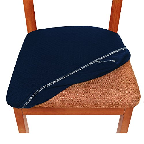 Smiry Stretch Spandex Jacquard Dining Room Chair Seat
