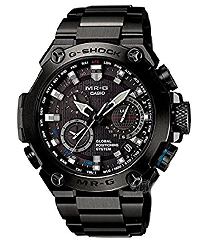 Casio MR-G GPS Hybrid Wave Ceptor Black Tone MRG-G1000B-1ADR