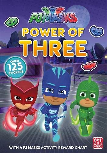 Power of Three: A PJ Masks Sticker Book : Pat-a-Cake, PJ ...