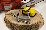 TopSaw TSPWP-BL Multitool for Chainsaws and Outdoor Power Equipment, Chrome/Black/Yellow