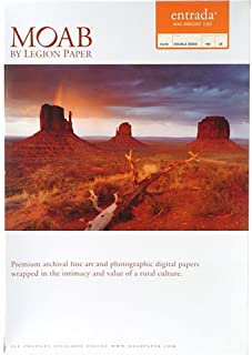 """product image for Moab Entrada Rag Bright 190gsm 13""""x19"""" - 25 sheets R08-ERB190131925"""