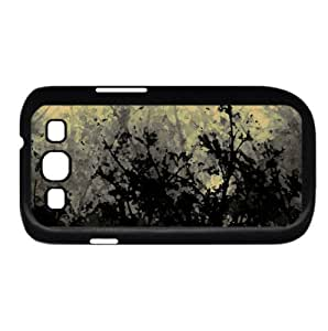 Dark Forest Watercolor style Cover Samsung Galaxy S3 I9300 Case (Autumn Watercolor style Cover Samsung Galaxy S3 I9300 Case)
