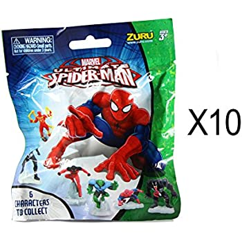 Amazon Com Spider Man Marvel Ultimate Minis Figures