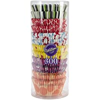 Wilton Cupcake Liner Party Pack 300 Ct (Multi)