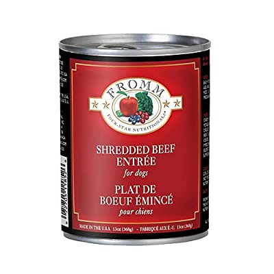 Fromm 4-Star Shredded Beef Can Dog Food Case