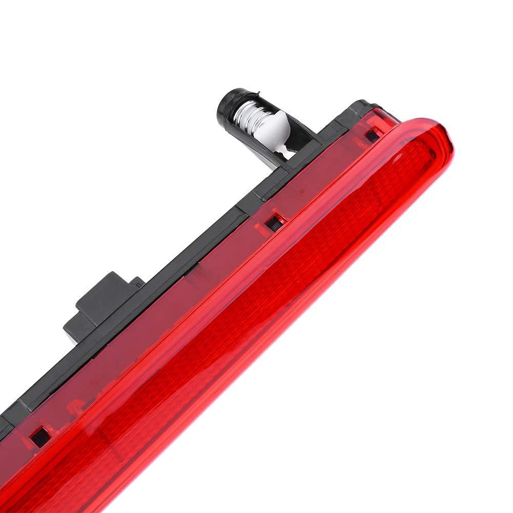 Qiilu Luz de freno trasero del coche LED rojo Luz de freno de alto nivel trasera para T5 Multivan Transporter 03-15 7E0945097A