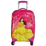 Texas USA 18 inch PRINCESS2 Printed Polycarbonate 4 wheel Kids Trolley Bag