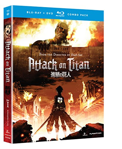 Blu-ray : Attack on Titan - Part 1 (With DVD, Dubbed, , 2 Disc)