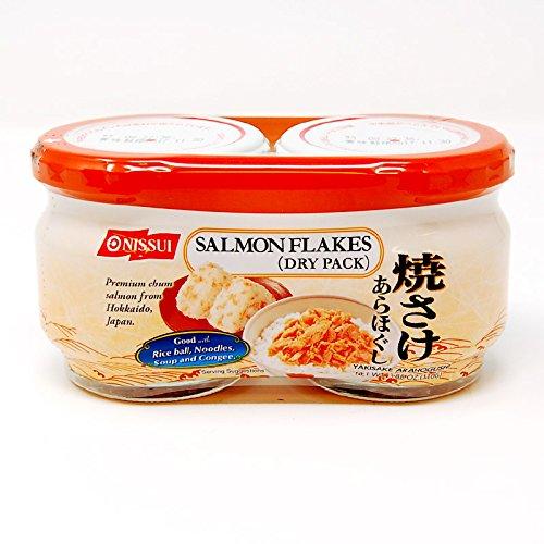 Chum Salmon (Nissui Salmon Flakes(Dry Pack) 3.88 oz)