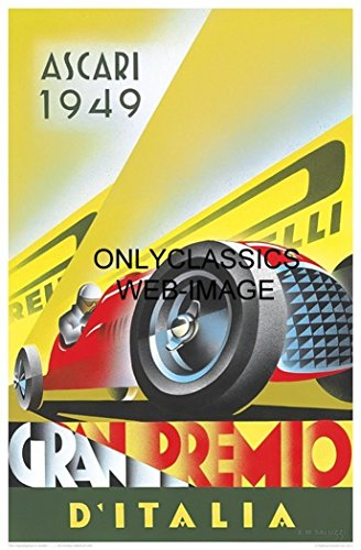 vintage auto racing posters - 1