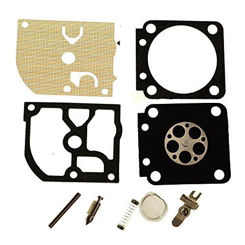 Savior Carb Rebuild Kit Gasket Diaphragm RB-91 for Zama C1Q-S59 C1Q-S59A Carburetor STIHL MS191 192T MS200T - Flange Mount Carburetor