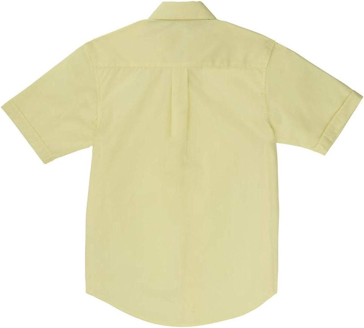 French Toast Boys Short Sleeve Poplin Dress Shirt