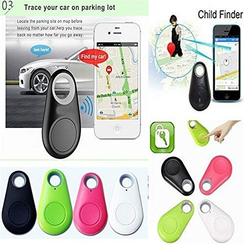 7542632f655a Blueis New Smart Bluetooth Tracer GPS Locator Tag Alarm Wallet Key Pet Dog  Tracker Handheld GPS Unit Handheld GPS Units (Black)