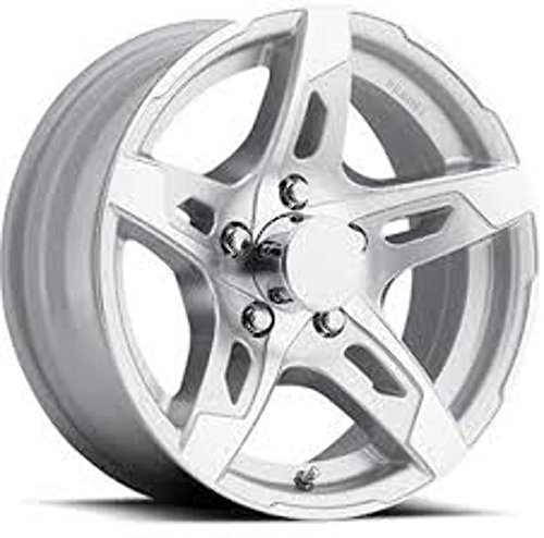 "15"" TRAILER STOCK UTILITY 5 LUG 5 SPOKE ALUMINUM WHEEL RIM T10-56545SM"