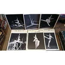 Lot de 6 livres collection visions de la danse : Le Kiroc - Le lac des cygnes - Paolo Bortoluzzi - nouvelles danse française - Carolyn Carlson - Le ballet de l'opéra -
