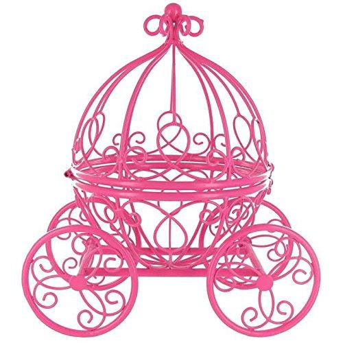 Hot Pink Princess Carriage Metal Table T - Princess Metal Shopping Results