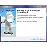 a-keylogger computer spy software 2.0 monitor all user activity on your pc, see messages, emails and all internet sites visited