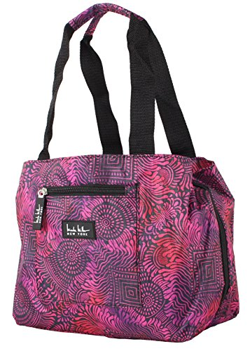Nicole Miller of New York Insulated Lunch Cooler 11 Lunch Tote (Copacabana Magenta) from Nicole Miller