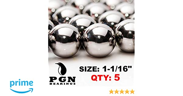 1-1//16 Mirror Finish Carbon Steel Replacement Pinball Machine Balls Fifty 50