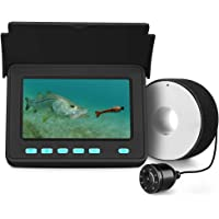 $109 » Eyoyo Portable Underwater Fishing Camera Fixed on Rod Underwater Video Fish Finder 4.3 inch…