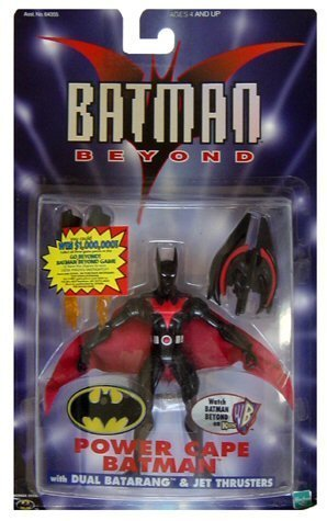 Batman Beyond ~ Power Cape Batman w/ Dual Batarang & Jet Thrusters -