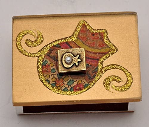 Jerusalem Granada Decorativa Caja de cerillas Regular Tamaño Manos Made by Lili – Arte diseño: Amazon.es: Hogar