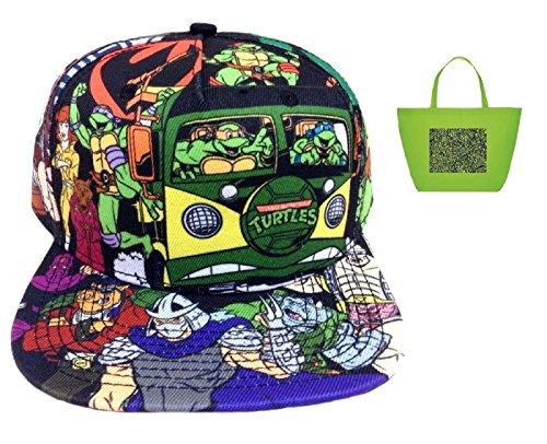 Nickelodeon Adult Teenage Mutant Ninja Turtles Sublimated Snapback