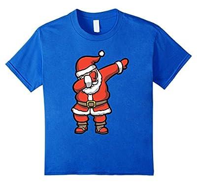 Dabbing Santa T-Shirt - Funny Santa Claus Christmas Dab Tee