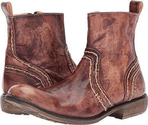 Bed|Stu Mens Revolution Leather Square Toe Ankle, Teak Driftwood, Size 12.0