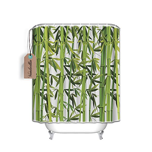 pa Waterproof Fabric Shower Curtain 60 x 72 Inches,Bathroom Accessories Set with Rings, Nature Art Wildlife Prints Home Design ()