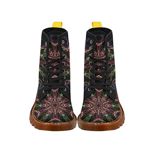 Leinterest Abstrakta Martin Stövlar Mode Skor För Kvinnor