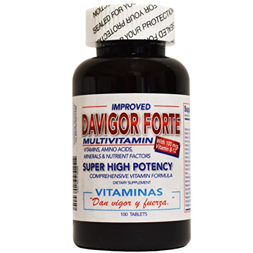 Da Vigor Forte Multivitamin Super High Potency 100 Tablets