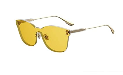 Dior Authentic Christian Color Quake 2 40GHO Gold/Yellow Sunglasses