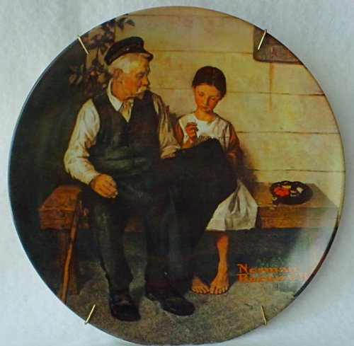 (Norman Rockwell Lighthouse Keeper's Daughter)