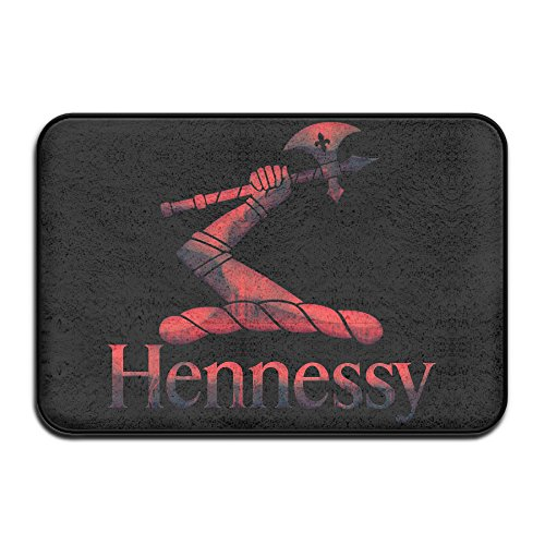 red-metal-hennessy-xo-logo-doormat-outdoor-fashion-door-mats-outdoor-area-rugs-non-slip-door-mat-dog