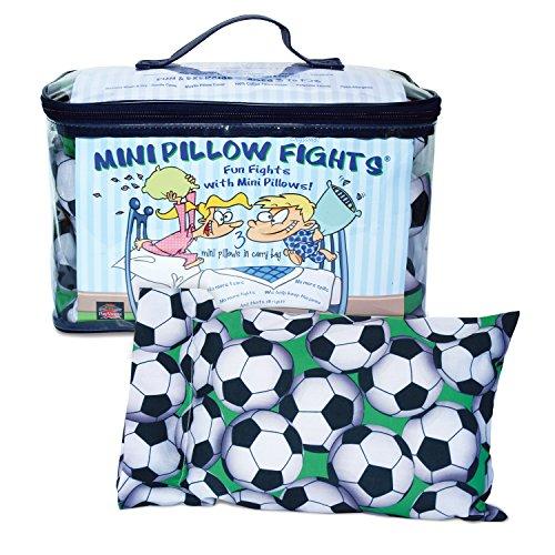 Mini Pillow Fights - Soccer - Set
