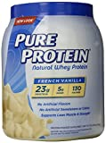 Pure Protein Natural Whey Protein Powder, French Vanilla, 3.2 Pound ,Pure-w3w4 Review