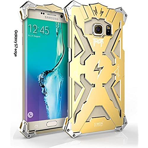 Galaxy S7 Edge Case, bpowe Simon Aviation Aluminum Thor Case for SAM S7 Edge , Anti-scratch Strong Protection Metal Case For Samsung Galaxy S7 Sales