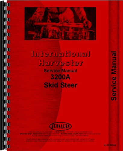 International Harvester 3200A Skid Steer Service Manual PDF
