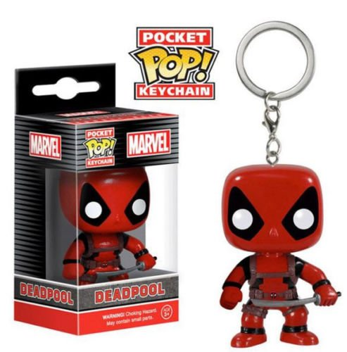 - Funko POCKET POP! KEYCHAIN: MARVEL COMICS - DEADPOOL Vinyl Collectible New by Generic