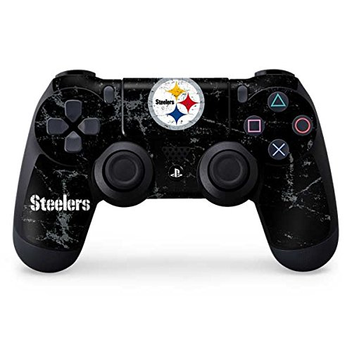 Price comparison product image NFL Pittsburgh Steelers Distressed Skin for Sony PlayStation 4 / PS4 Dual Shock4 Controller
